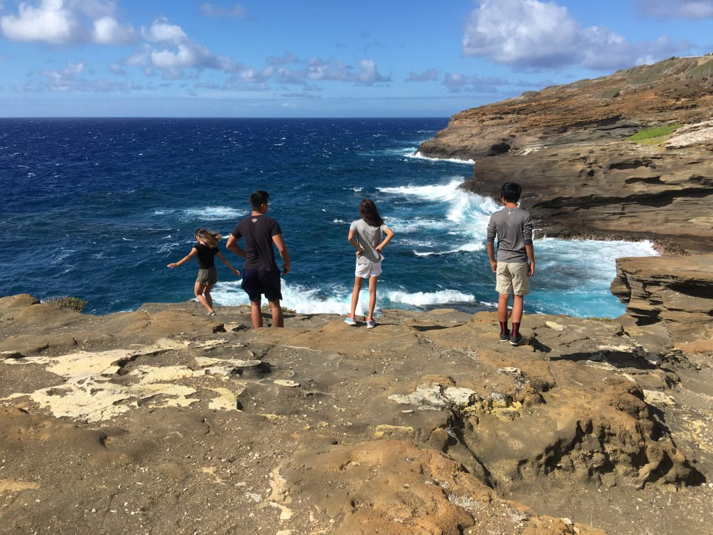 In Hanauma Bay