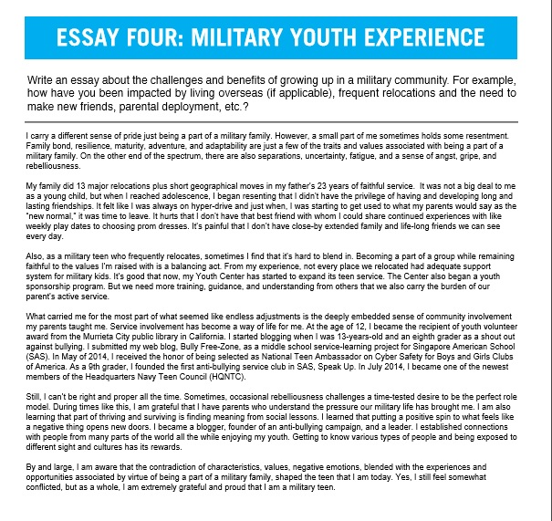 Should military service be mandatory essay